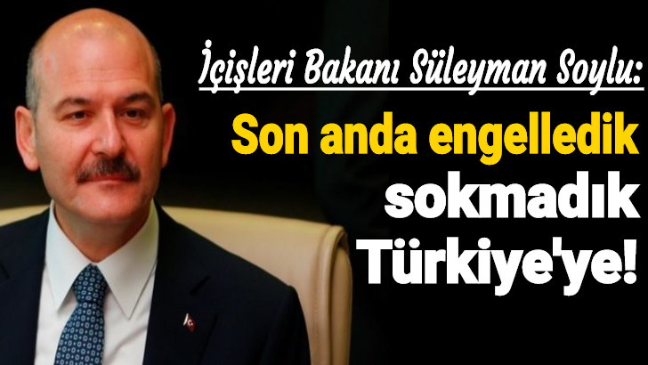 İçişleri Bakanı Süleyman Soylu duyurdu! Ağrı'da sıcak çatışma