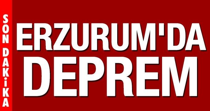 Erzurum'da 3,4 büyüklüğünde deprem