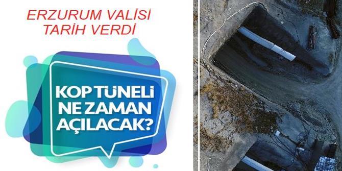 Kop Tüneli 2022 sonunda tamamlanacak