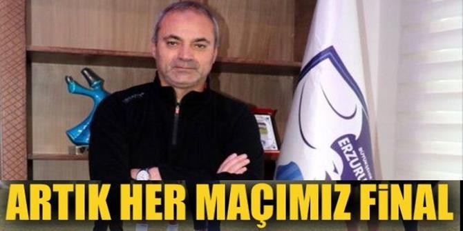 Erzurumspor için her maç final