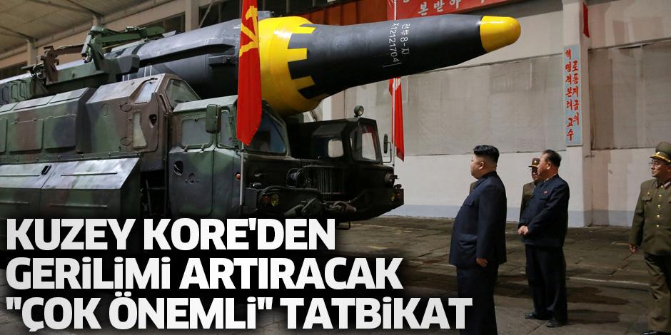 Kuzey Kore'den tartışmalı alanda tatbikat