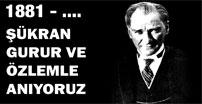 Atatürk Erzurum'da anıldı