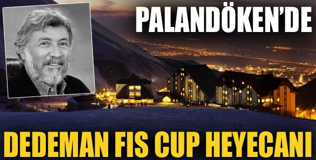 Palandöken'de Murat Dedeman Fıs Cup Heyecanı