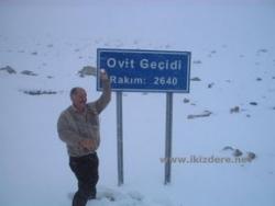 Ovit Dağı'nda Ulaşıma Kar Engeli!