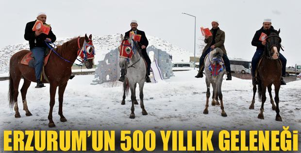 Erzurum'da Binbir Hatim geleneği başladı
