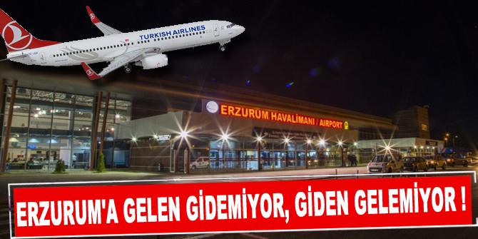 Erzurum'a Gelen Gidemiyor, Giden Gelemiyor.!