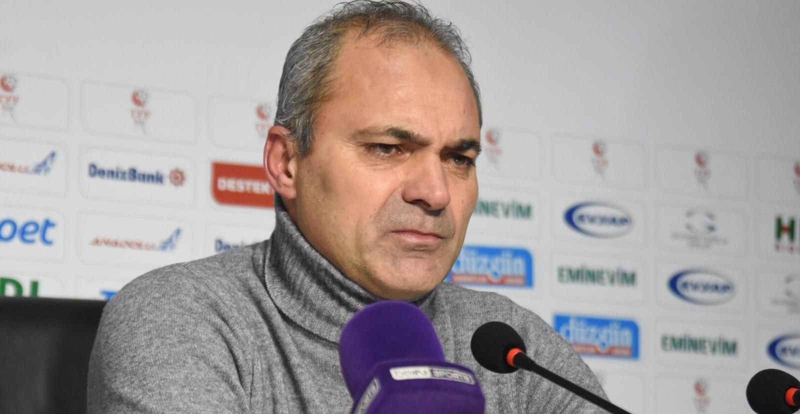 Erzurumspor - Giresunspor maçının ardından