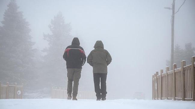 Doğu'da kar yağışı ve sis