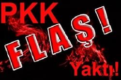 PKK'lılar Harfiyat Kamyonlarını Yaktı