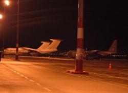 Bu uçaklar Erzurum'da kaldı!