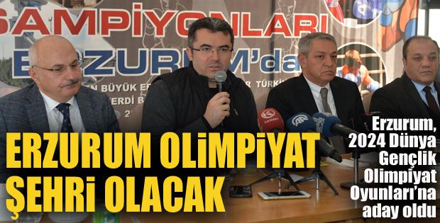 Vali Memiş: Erzurum olimpiyat şehri olacak