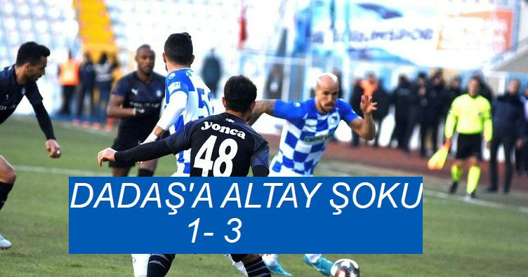 TFF 1. Lig: BB Erzurumspor: 1 - Altay: 3