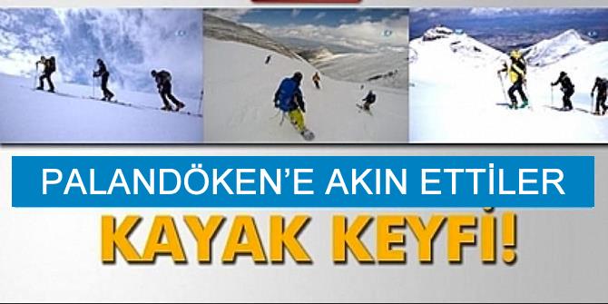 Kayak severler Erzurum'a akın edecek