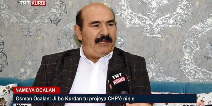 Osman Öcalan'ın TRT'ye çıkmasına savcılıktan skandal yanıt