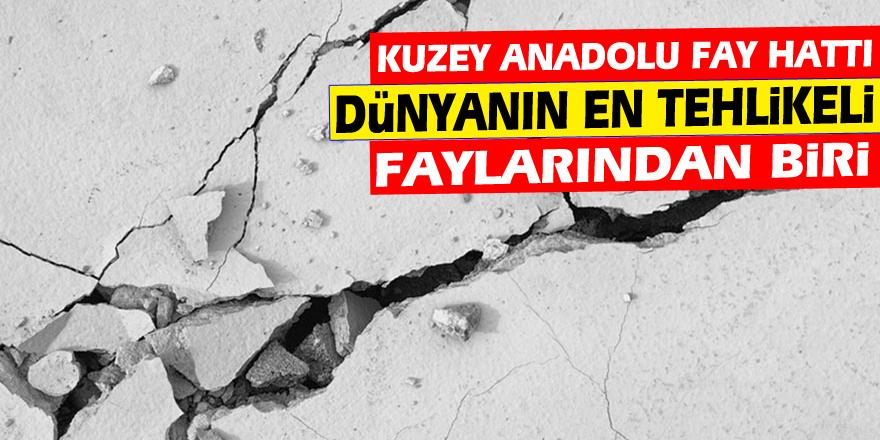 Jeofizik uzmanından önemli açıklama: Kuzey Anadolu fayı tehlikeli