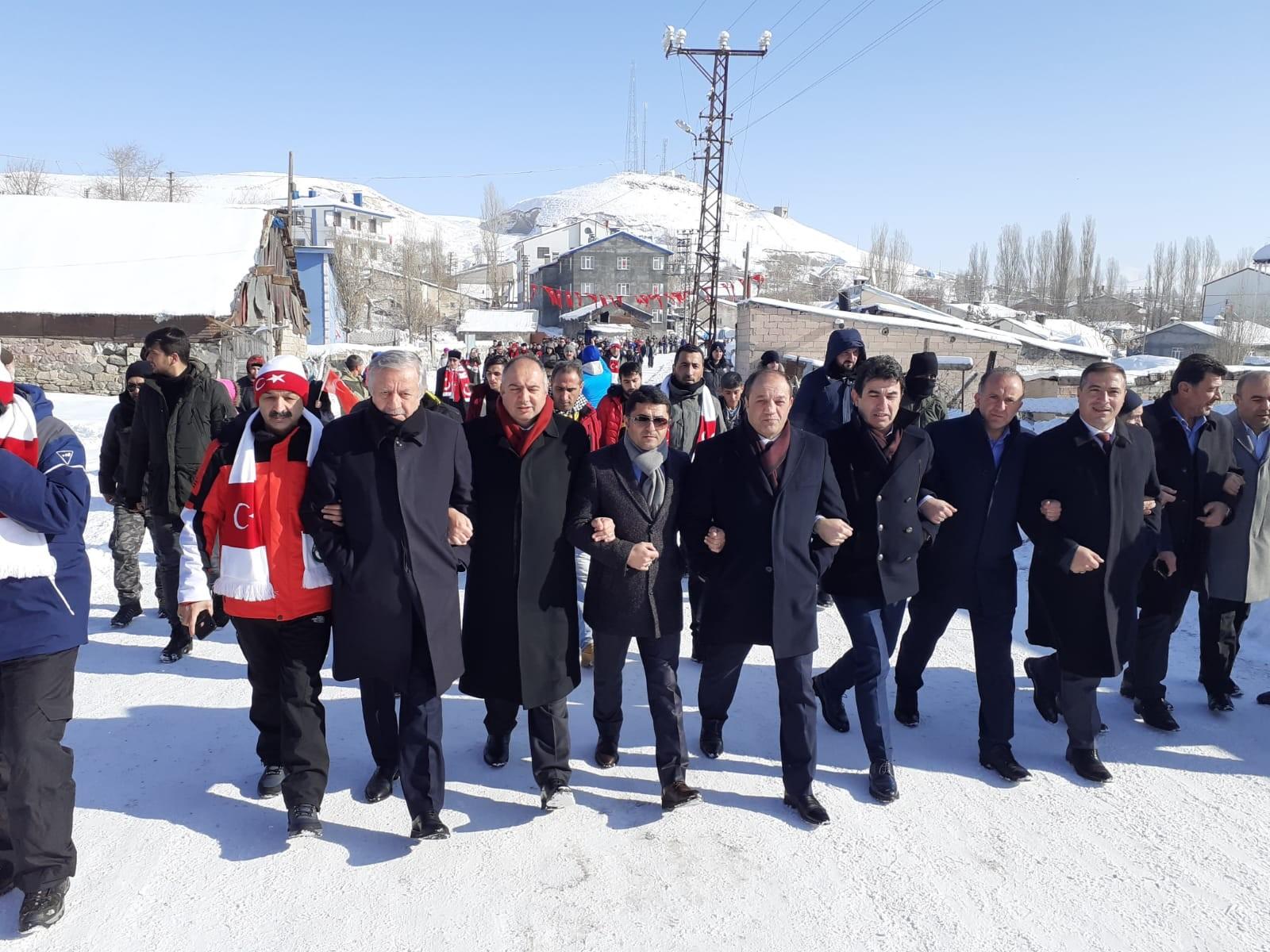 MHP Milletvekillerinden MHP Erzurum İl Başkanı Karataş'a ziyaret