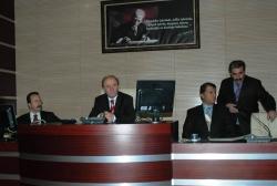 Vali Öztürk, başkanlığında yapıldı