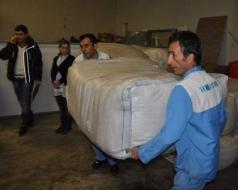Erzurum AVM'den Van'a yardım