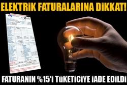 Elektrik faturaları için önemli karar!