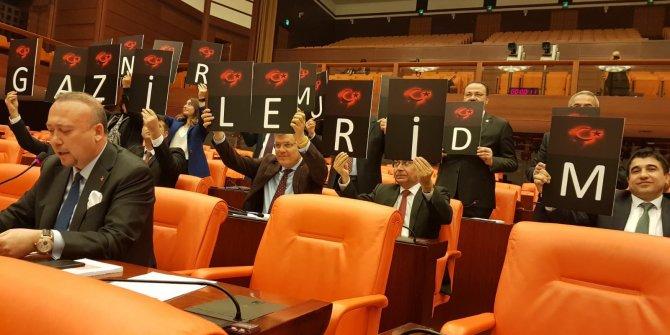 Gazilerin mağduriyeti Meclis'e taşındı
