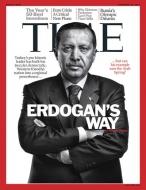 Time'da Erdoğan tarzı!