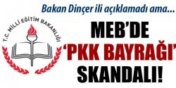 PKK bayrağı tehdidi