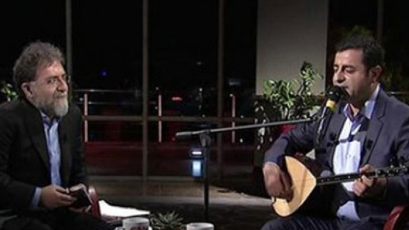 Ahmet Hakan'dan Fatih Altaylı'ya 'Selahattin Demirtaş' yanıtı!