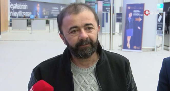 AA muhabiri Türkiye'ye döndü