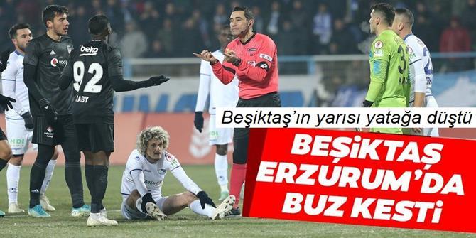 Beşiktaş'ın yarısı yatağa düştü