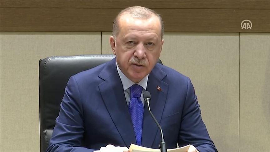 Erdoğan: Türkiye Libya'da barışın anahtarı olmuştur