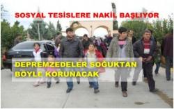 26 aile Erzurum'a getirildi!