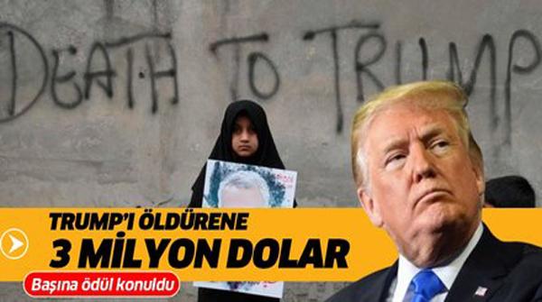 Trump'ı öldürene 3 milyon dolar!