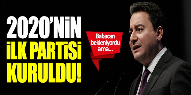 2020'nin ilk partisi Anadolu Birlik Partisi (ABP)