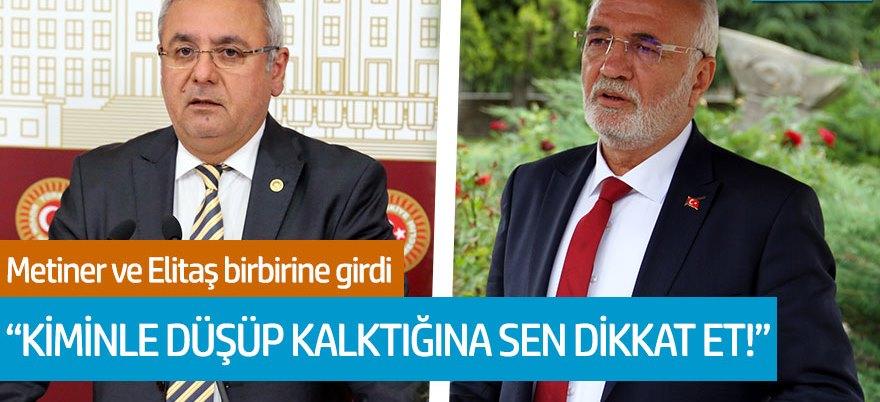 AKP'li Mustafa Elitaş ile Mehmet Metiner birbirine girdi!