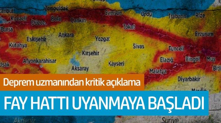 Deprem uzmanı Naci Görür: Fay hattı uyanmaya başladı!