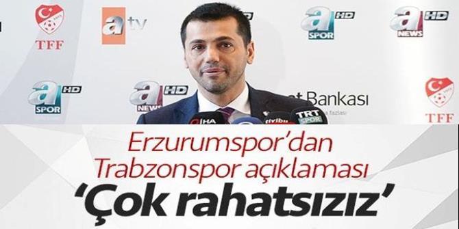 Üneş'ten Trabzonspor ve soğuk açıklaması