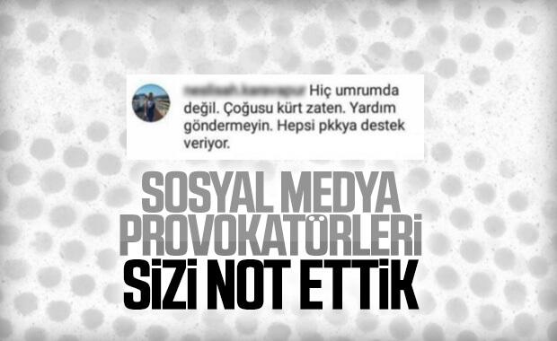 Sosyal medyadaki provokatif paylaşımlara soruşturma başlatıldı