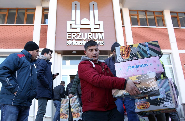 Erzurum Büyükşehir Belediyesi, adeta seferberlik ilan etti