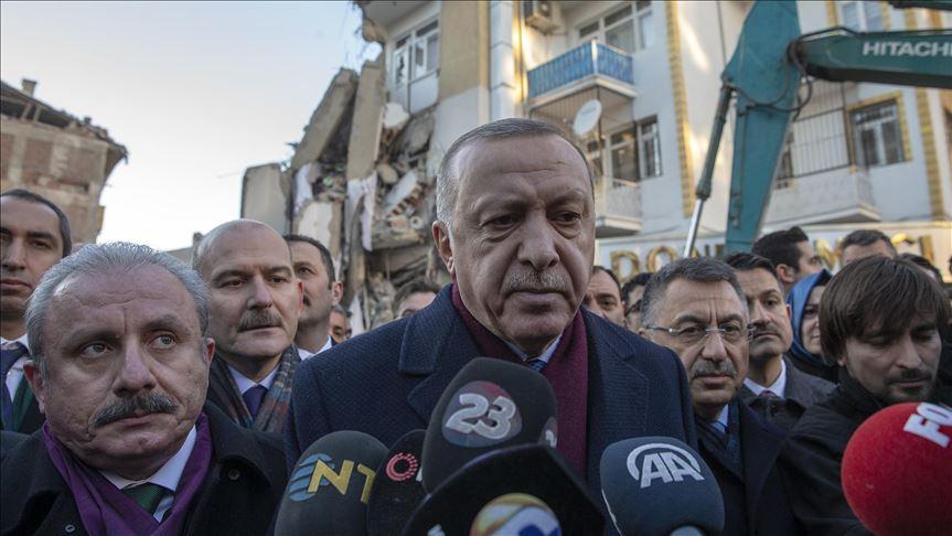 Erdoğan: Zemin etütlerinden sonra inşaatları yapacağız