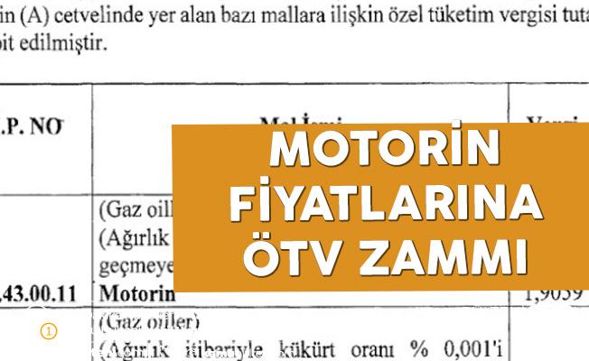 Resmi Gazete'de yayımlandı! Motorinde ÖTV artışı