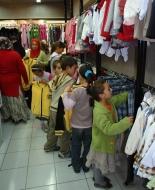 Korkut'tan öğrencilere okul kıyafeti