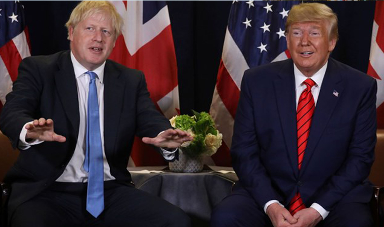 Trump, Huawei yüzünden Boris Johnson'a çok kızdı