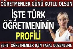 İşte Türk öğretmeninin profili