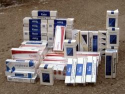 Aşkale'de 13 bin 96 kaçak sigara