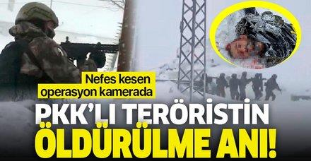 Erzurum'da o operasyonun görüntüleri ortaya çıktı