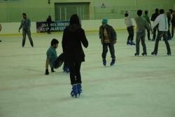 Erzurum'un en popüleri 'buz pateni'