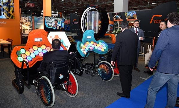 Eğlenceli makineler, ATRAX 2020 Fuarı'nda sergileniyor
