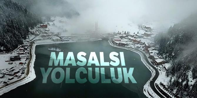 Beyaza bürünen Türkiye havadan görüntülendi