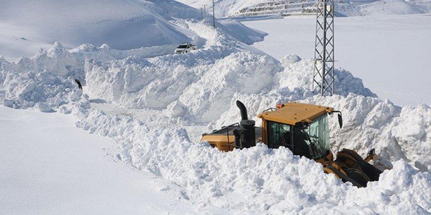 Meteoroloji uyardı! Kar ve çığa dikkat!
