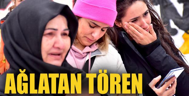 Erzurum'da Ağlatan tören